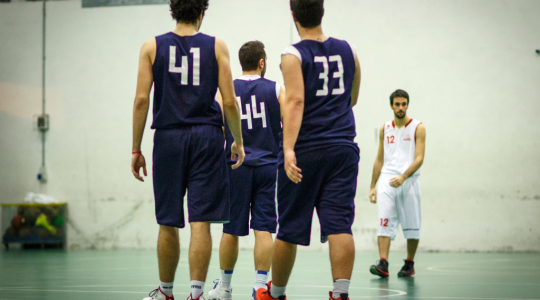 Controluce Basket vs Carpine Basket - Prima Divisione