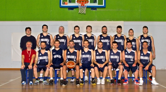 Roster maschile Controluce Basket