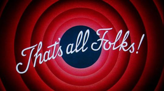 Fine striscia positiva - That's all folks