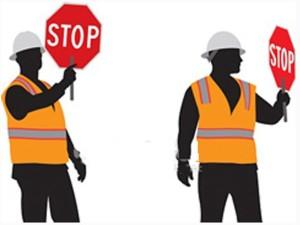 stop per lavori