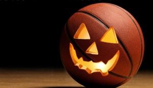 palla da basket halloween